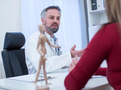 Kann ich gut mit meinem Arzt reden? Das ist wesentlich für eine ganzheitliche Versorgung.